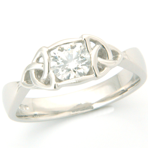 Platinum Celtic Solitaire Diamond Ring.jpg