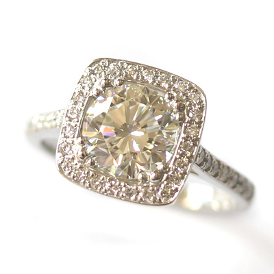 Platinum Tiffany Inspired Diamond Halo Engagement Ring 4.jpg