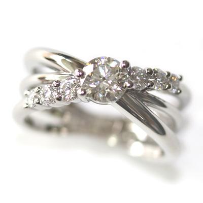 Platinum Three in One Engagement, Wedding and Eternity Ring 2.jpg