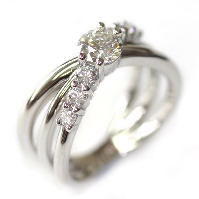Platinum Three in One Engagement, Wedding and Eternity Ring 3.jpg