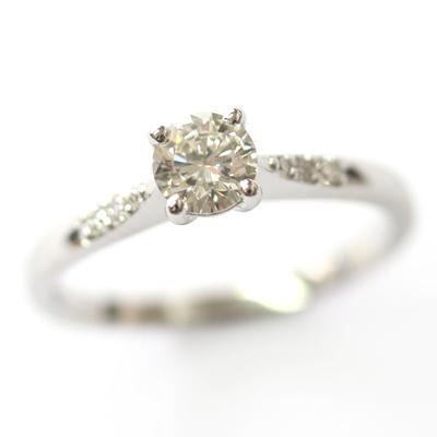Platinum Engagement Ring with elegant Diamond Detail 5.jpg