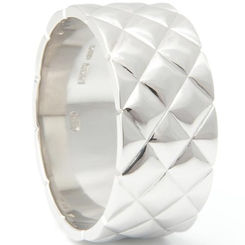 Textured Platinum Satin Finish Gents Ring.jpg