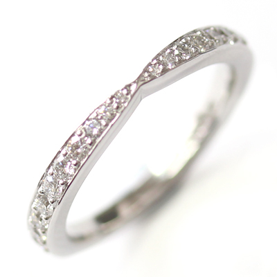 18ct White Gold Diamond Fitted Wedding Ring to Trilogy Halo Engagement Ring 6.jpg
