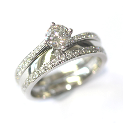 Platinum Diamond Set Fitted Wedding Ring 2.jpg