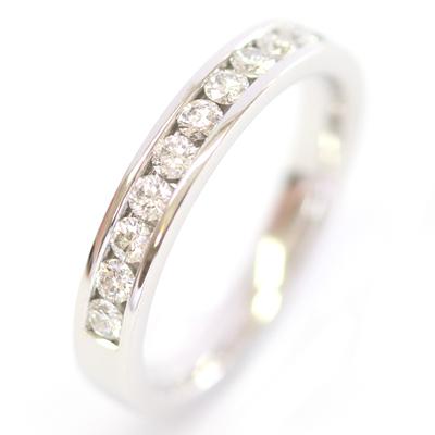 18ct White Gold Channel Set Diamond Eternity Ring 3.jpg