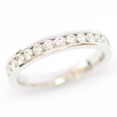 18ct White Gold Channel Set Diamond Eternity Ring 4.jpg