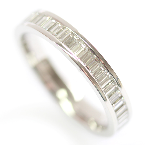 Platinum Baguette Cut Diamond Eternity Ring.jpg