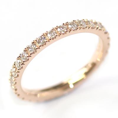 Rose Gold Fully Diamond Set Eternity Ring 2.jpg