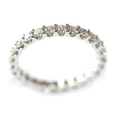 18ct White Gold Diamond Scalloped Eternity Ring 3.jpg