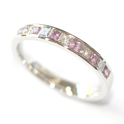 Platinum Pink Sapphire and Diamond Eternity Ring 2.jpg