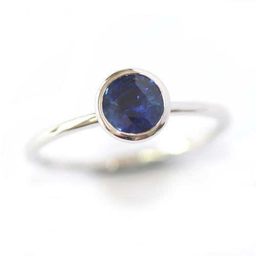 Platinum Sapphire and Diamond Twist Eternity Ring.jpg