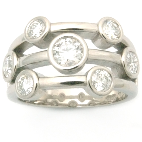 Palladium Multi Strand Diamond Eternity Dress Ring leeds - Copy.jpg