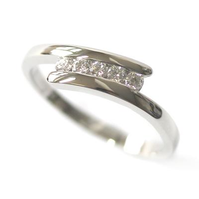 Platinum Five Diamond Dress Ring 1.jpg