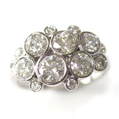 Palladium Multi Diamond Dress Ring 3.jpg