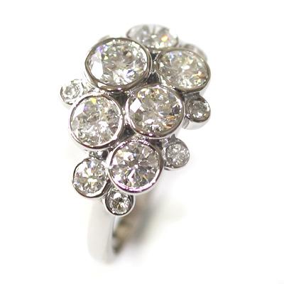 Palladium Multi Diamond Dress Ring 4.jpg