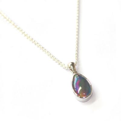 Pear Cut Opal Pendant and Necklace 1.jpg