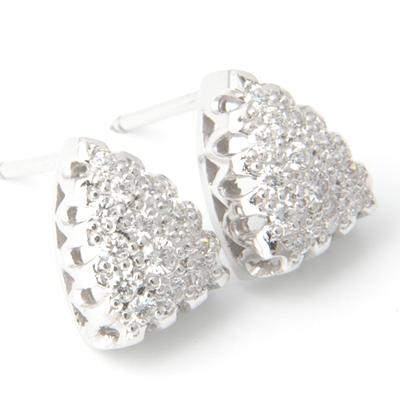 Platinum Pave Set Diamond Earrings 3.jpg