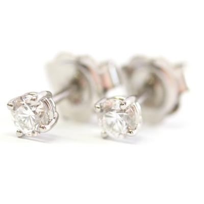 Platinum Diamond Set Earrings 2.jpg