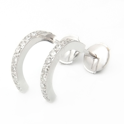 Platinum Half Hoop Diamond Earrings 1.jpg