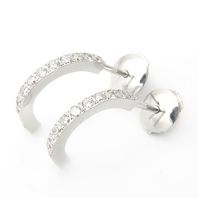 Platinum Half Hoop Diamond Earrings 2.jpg