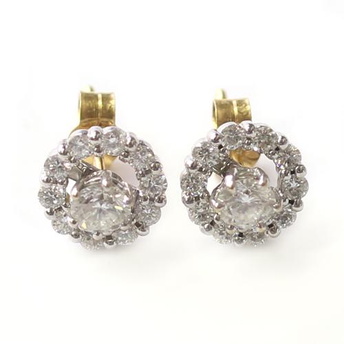 9ct White Gold Tanzanite and Diamond Trilogy Bangle.jpg