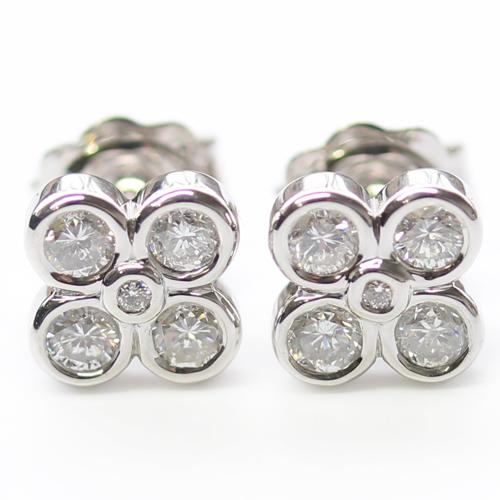 9ct White Gold Diamond Earrings.jpg