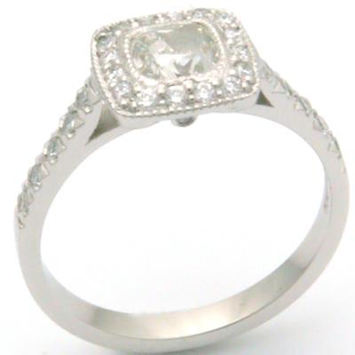 White Gold Tiffany Legacy Style Cushion Cut Diamond Engagement Ring 2.jpg