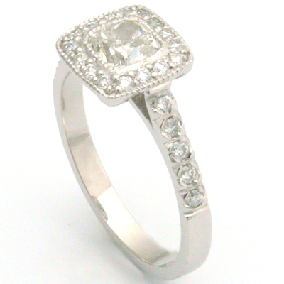 White Gold Tiffany Legacy Style Cushion Cut Diamond Engagement Ring 1.jpg