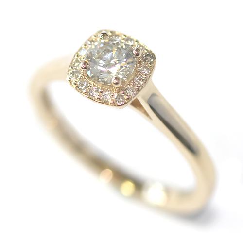 Platinum Round Brilliant Cut Diamonds Cluster Engagement Ring.jpg