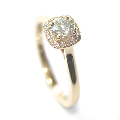 Fairtrade Yellow Gold Diamond Halo Engagement Ring 7.jpg