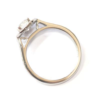 Platinum 0.60ct Round Brilliant Cut Diamond Halo Engagement Ring 4.jpg