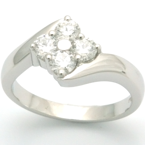 Platinum Four Diamonds Engagement Ring.jpg