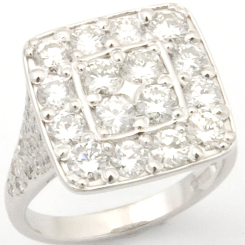 Platinum Diamond Cluster Engagement Ring.jpg