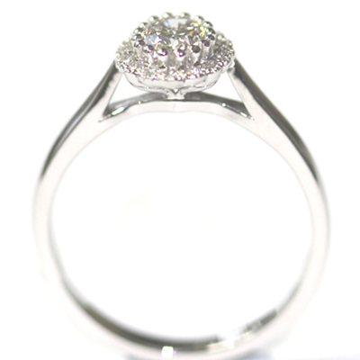 Platinum Oval Cut Diamond Halo Engagement Ring 4 copy.jpg