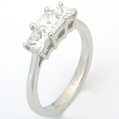 Platinum Trilogy Princess Cut Diamond Engagement Ring 3.jpg