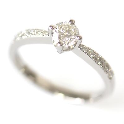 Palladium Round Brilliant Cut Diamond Engagement Ring 1.jpg