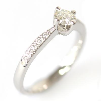 Palladium Round Brilliant Cut Diamond Engagement Ring 4.jpg