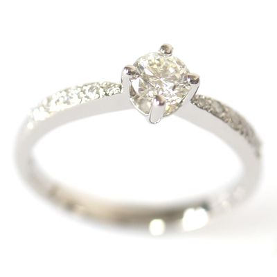 Palladium Round Brilliant Cut Diamond Engagement Ring 5.jpg