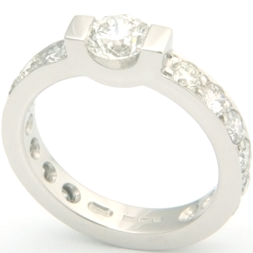Platinum Fully Set Round Brilliant Cut Diamond Engagement Ring.jpg
