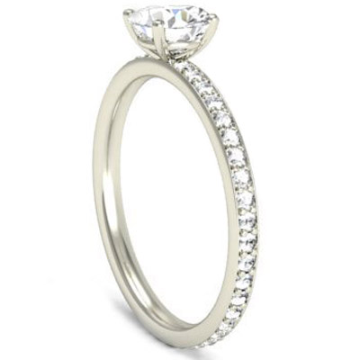 Platinum Solitaire Fully Diamond Set Engagement Ring 3.jpg