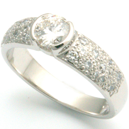 Palladium Diamond Pave Set Engagement Ring.jpg