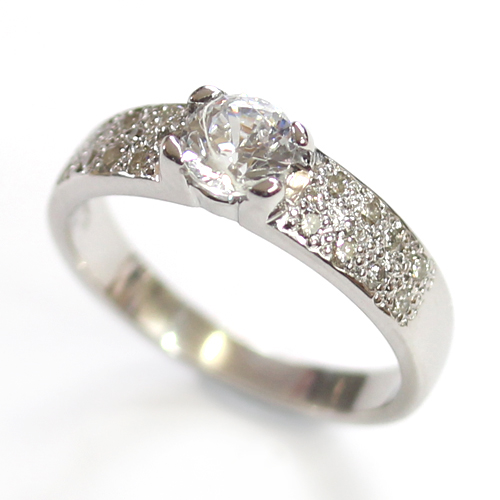 White Gold Pave Set Diamond Engagement Ring 2.jpg