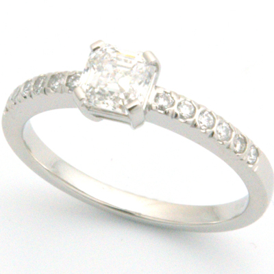 Platinum Asscher Cut Diamond Engagement Ring 1.jpg