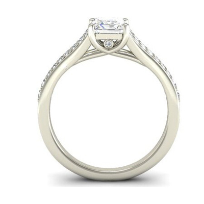 Platinum Radiant Cut Diamond Engagement Ring 2.jpg