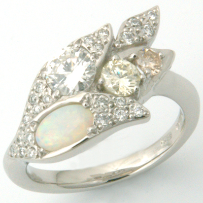 Platinum engagement ring customers stones 1.jpg