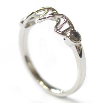 Platinum Whitby Jet and Blue John Helix Engagement Ring 4.jpg