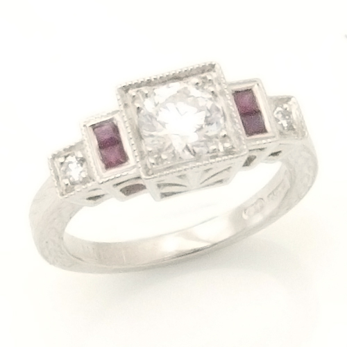 Platinum Art Deco Diamond and Ruby Engagement Ring.jpg