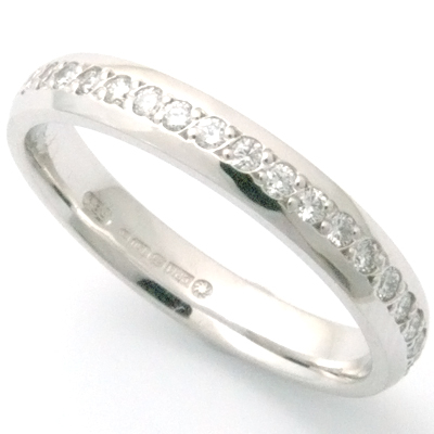 3mm Traditional Court Grain Set Wedding Ring 2.jpg