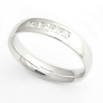 Platinum Channel Set Diamond Ladies Wedding Ring 2.jpg