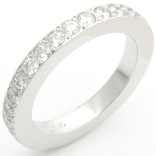 Platinum Fully Set Diamond Wedding or Eternity Ring.jpg